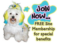 Register and become a member of The Pet Directory - JOIN NOW... FREE Site Membership for special benefits