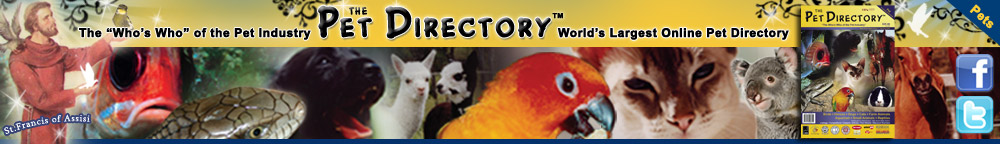 The Pet Directory website banner