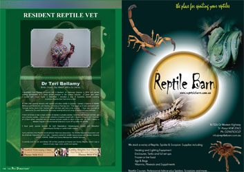 The Pet Directory Reptile Resident Vet Page NSW