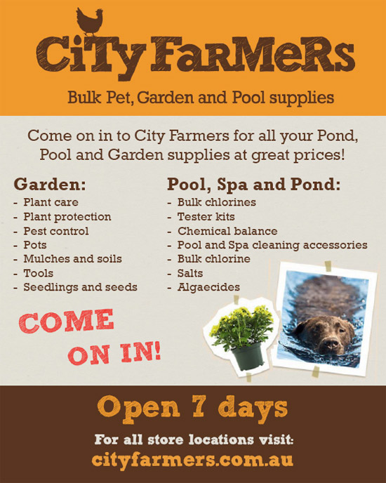 City Farmers Bulk Pet, Garden and Pool Supplies