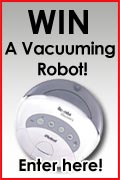 WIN a Vacuuming Robot from Salton!