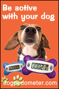 Be active with your dog - dogpedometer.com