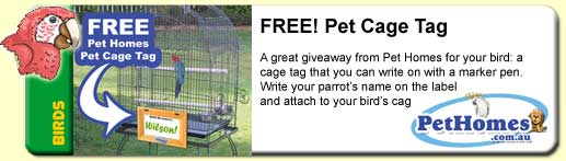 FREE Pet Cage Tag