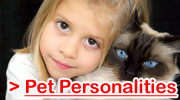 Pet Cat Personalities