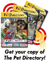 Get your copy of The Pet Directory!
