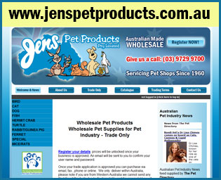 Jens Pet Products