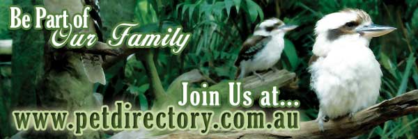 Be part of our family - Join us at www.petdirectory.com.au