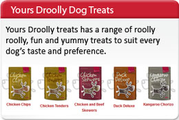 Masterpet Yours Drolly Dog Treats