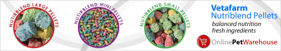 Vetafarm Nutriblend Pellets: balanced nutrition fresh ingredients