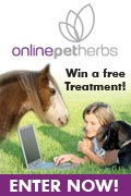 Enter the competition to win one free consultation with one months worth of free herbs for your pet!