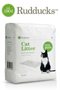 Rudducks eco pure cat litter