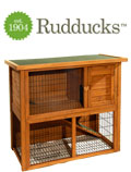 Rudducks Li'l Friends Hutch - Double Storey