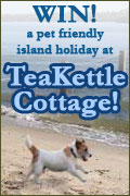 Win a holiday at TeaKettle Cottage - Competition Closed - See who is the winner!