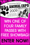 WIN ONE OF FOUR FAMILY PASSES WITH FREE SHOWBAG