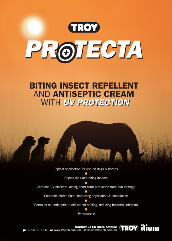 Troy Protecta Biting Insect Repellent Antiseptic Cream with UV Protection