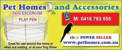 Pet Homes & Accessories listing image or logo