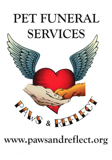 paws and reflect pet funerals logo