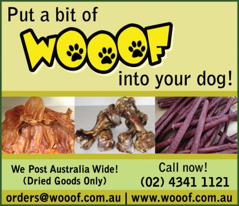 Wooof Pet Food & Treats listing image or logo