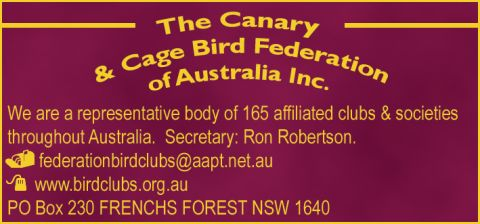 The Canary & Cage Bird Federation of Aust logo