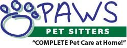 PAWS Pet Sitters logo