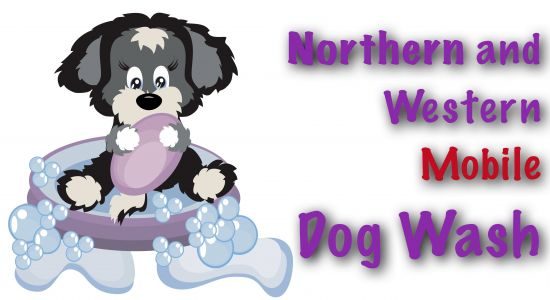 Northern and Western Mobile Dogwash logo