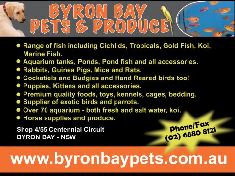 Byron Bay Pets and Produce listing image or logo
