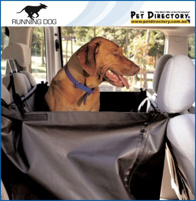 Running Dog Back Seat Protector Car Accessories