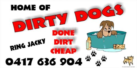 Jacky's Dirty Dogs Done Cheap listing image or logo
