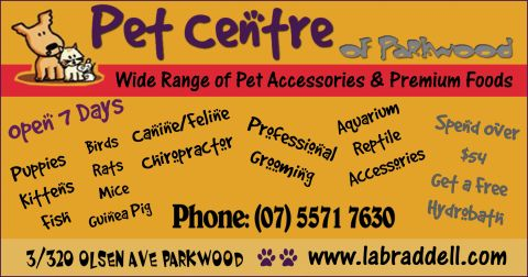 Pet Centre of Parkwood listing image or logo