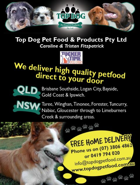 Top Dog Pet Food and Products listing image or logo