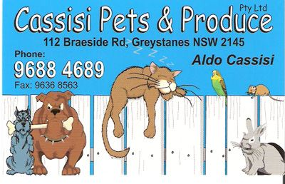 Cassisi Pets & Produce logo