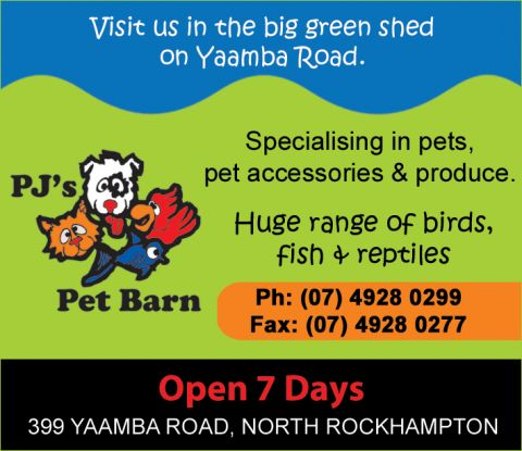 PJ's Pet Barn - North Rockhampton listing image or logo