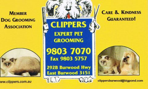 Clippers Grooming logo
