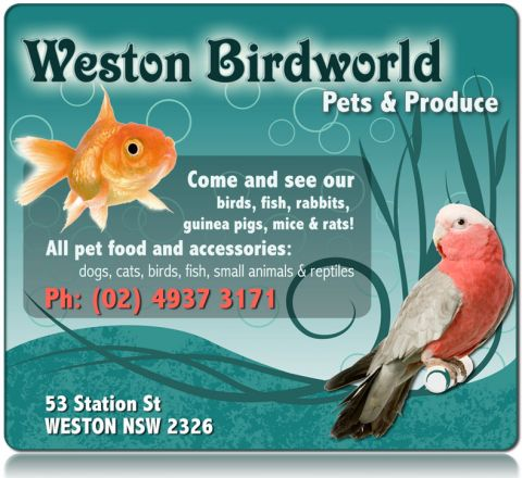 Weston Birdworld Pets & Produce logo