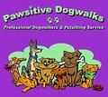 Pawsitive Dogwalks logo