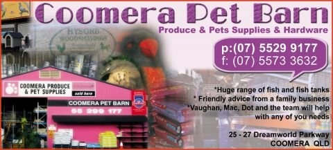 Coomera Pet Barn logo
