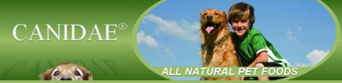 Canidae (R) All Natural Pet Food logo