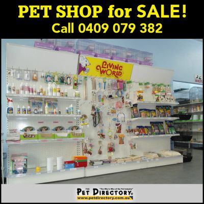 PET SHOP FOR SALE!