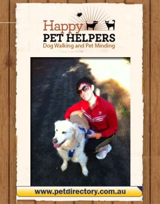 Personalised dog walk with Happy Pet Helpers!