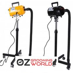 Grooming Dryer with Heater + Stand