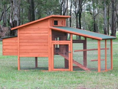 G109 Chicken Coop Hen House Chook Hutch Cage